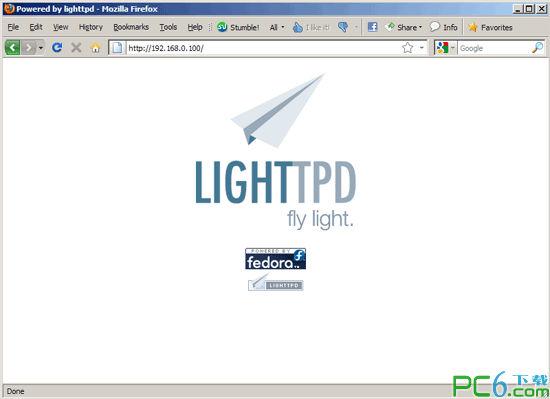 lighttpd(高性能网页服务器)