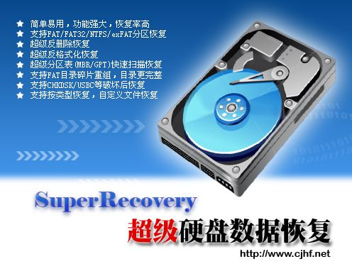 超级硬盘数据恢...