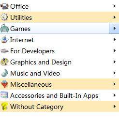Handy Start Menu(开始菜单程序列表自动分类)