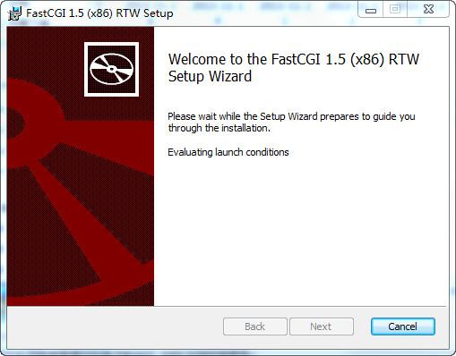 FastCGI for IIS6 1.5(32位&64位)