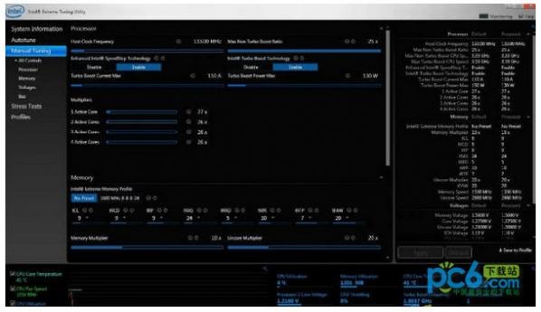 英特尔官方超频软件(Intel Extreme Tuning Utility) v5.1.
