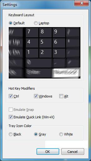 系统快捷键设置(Snap Plus) v1.0免费版