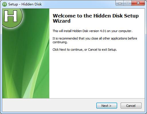 Hidden Disk(创建隐藏分区工具)