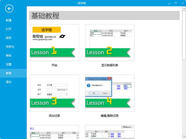 活字格(企业Web应用生成器) v16.0.722官方版