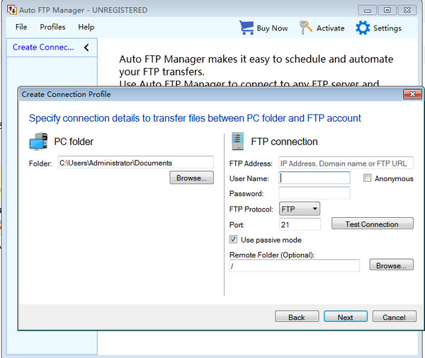 FTP工具(Auto FTP Manager) 6.07 官方版