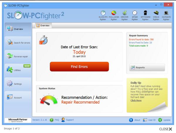 注册表清理工具(SLOW PCfighter)