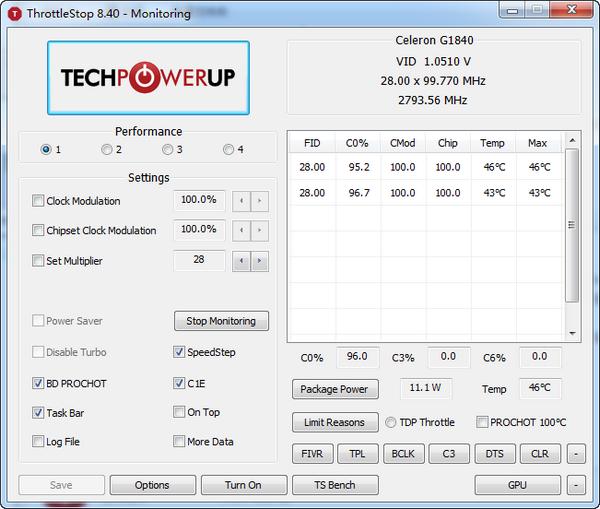 ThrottleStop(CPU性能监视和修改工具)
