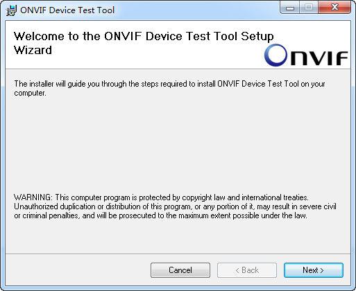 ONVIF测试工具(ONVIF Device Test Tool)