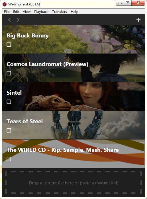 WebTorrent(bt种子播放器)