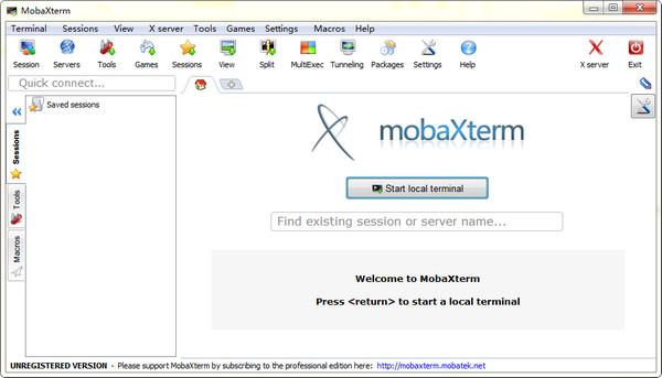 MobaXterm(远程...