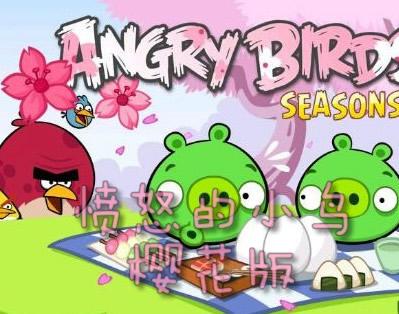愤怒的小鸟樱花版2.3.0完美免DVD电脑版