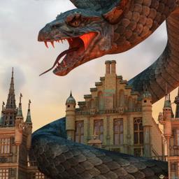 千户之屋巨蛇烈焰 中文版