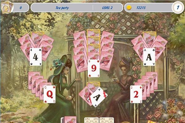 纸牌游戏维多利亚野餐