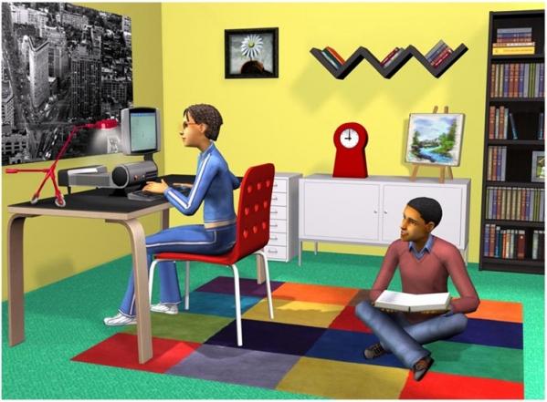 模拟人生2大学生活