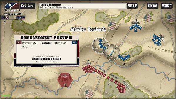 葛底斯堡战役转折点
