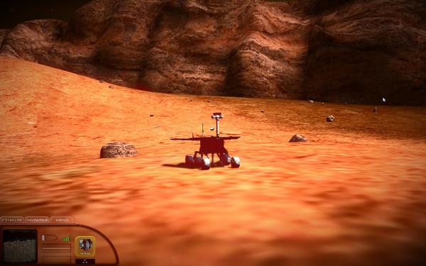火星模拟器红色星球
