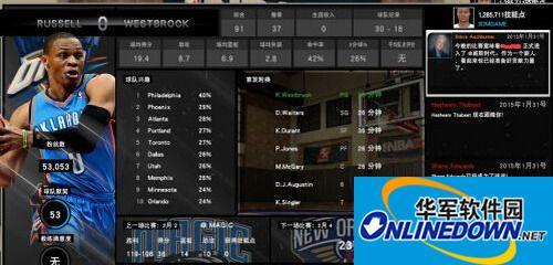 NBA 2K15 雷霆-...