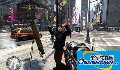 侠盗猎车手GTA4 第一人称视角First Person v1.22 MOD 1