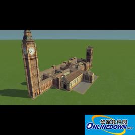 城市:天际线 英国议会及大本钟MOD