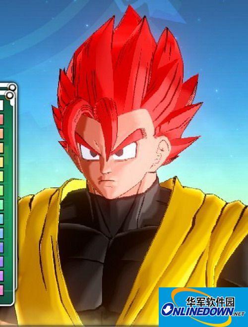 龙珠:超宇宙 十二款男性发型MOD