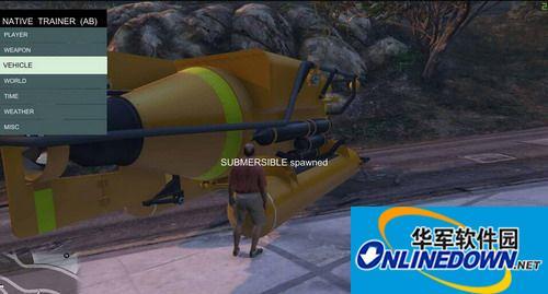 侠盗猎车5(GTA5) pc版v1.0.335.2多功能游戏内置修改器