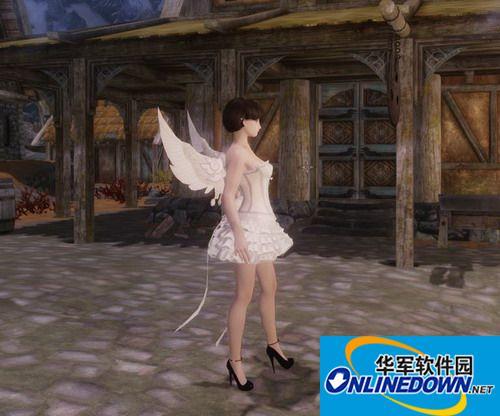 上古卷轴5:天际 天使短裙MOD