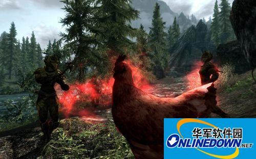 上古卷轴5:天际 奇葩鸡魔MOD