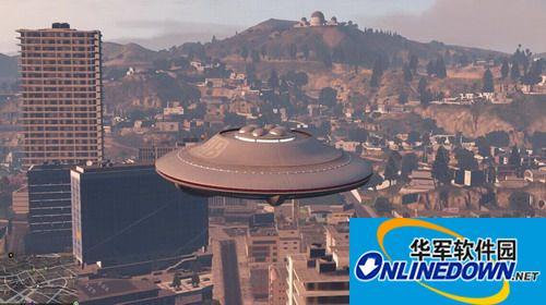 侠盗猎车手5 驾驶 UFO MOD