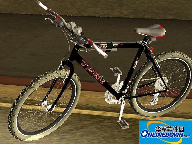十分精致的变速自行车