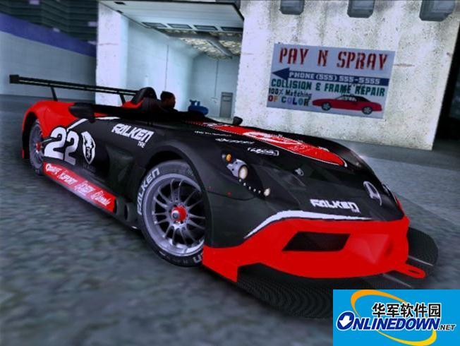 奔驰SLR StirlingMoss超级跑车 1