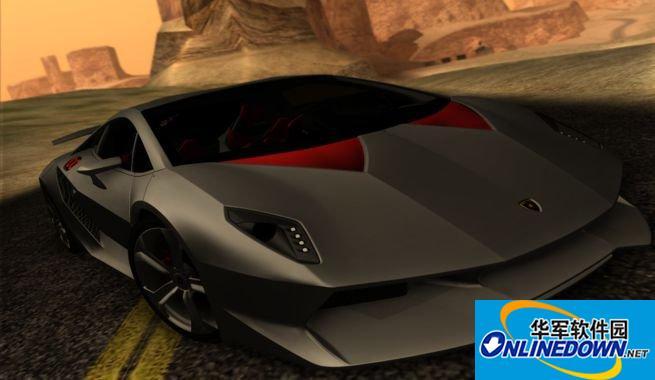 兰博基尼Sesto Elemento概念超级跑车