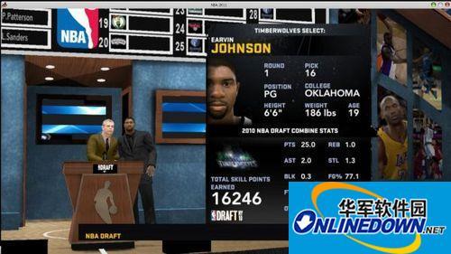 """《NBA 2K11》19岁""""魔术师""""约翰逊存档19岁""""魔术师""""约翰逊存档"""