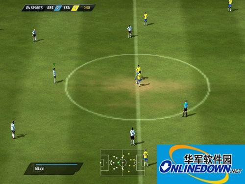 《FIFA 11》在集成显卡上流畅运行补丁 1