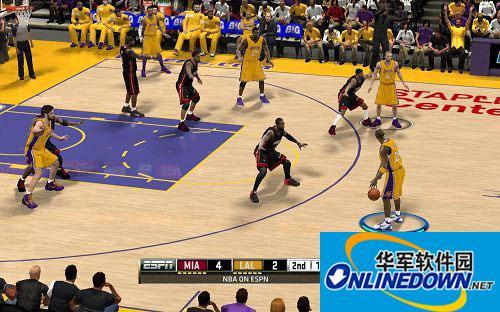 《NBA 2K12》灯光效果加强补丁灯光效果加强补丁