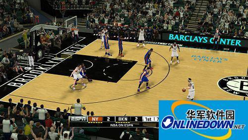 《NBA 2K12》布鲁克林篮网队球馆补丁