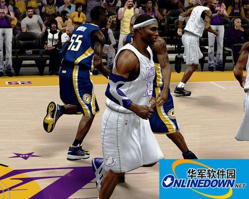 《NBA 2K13》湖人队圣诞球衣补丁