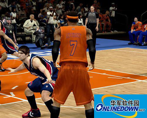 《NBA 2K13》尼克斯圣诞球衣补丁