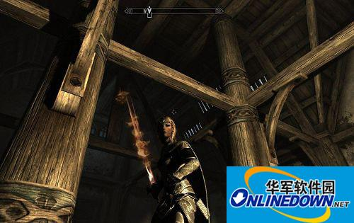 《上古卷轴5:天际》女火神之剑 MOD