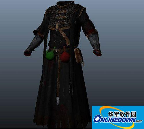 《上古卷轴5:天际(The Elder Scrolls V:Skyrim)》巫师2:Dethmolds长袍MOD
