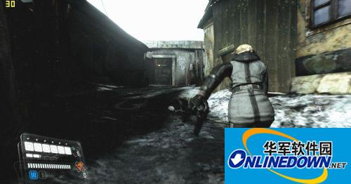 《生化危机6》雪莉改版黑色雪地服MOD覆盖版