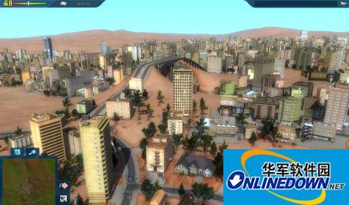 《都市运输2》地图 Desert  沙漠城市 1.0