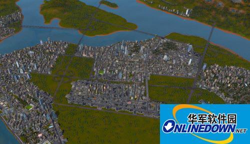 《都市运输2》地图 澈州地图 1