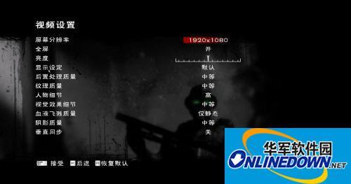 《诅咒》3DM简体中文汉化补丁v2.0