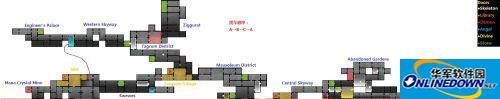 《瓦尔迪斯传说:深渊之城》详细地图