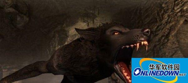 《上古卷轴5:天际》狼人凶猛重制