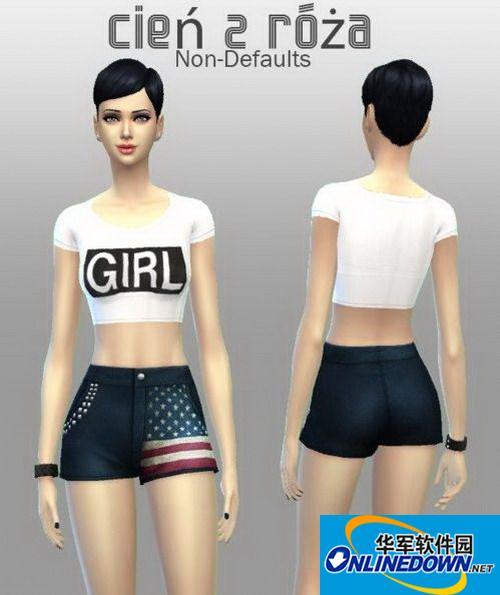 《模拟人生4》女式短裤系列合集 1