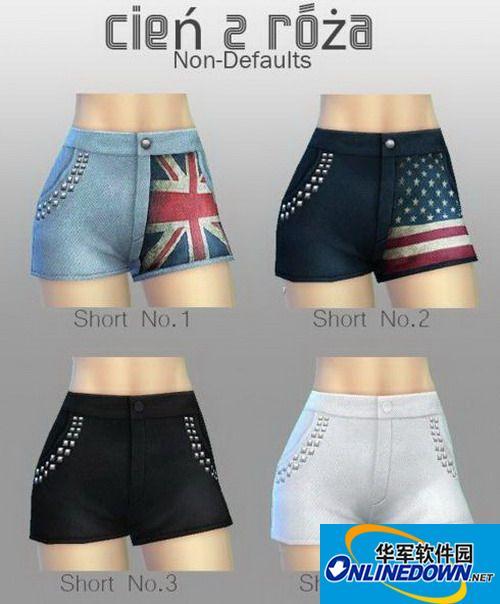 《模拟人生4》女式短裤系列合集