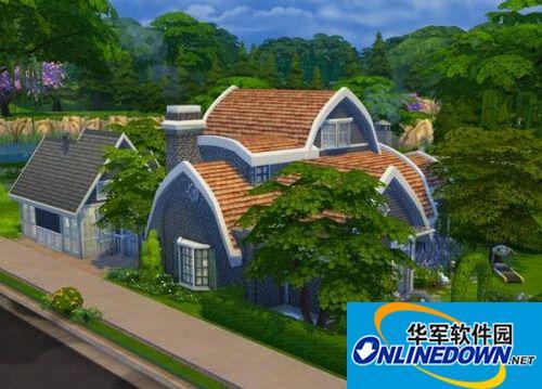 《模拟人生4》房屋brennys first