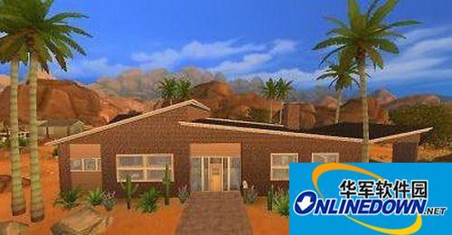 《模拟人生4》现代化中规格房屋MOD 1