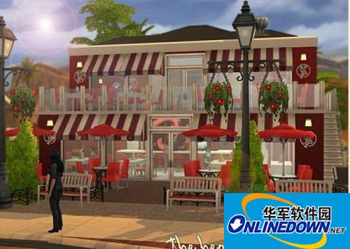 《模拟人生4》复古温馨咖啡屋MOD